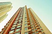 Wolkenkratzer in hongkong — Stockfoto