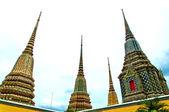 Ancient Pagoda at Wat Pho temple in Bangkok Thailand — Stock Photo