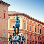 Neptune Statue in Bologna, Italy — Stock Photo
