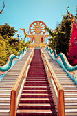 Big buddha statue in Koh Samui, Thailand — Stock Photo