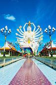 Statue of Shiva on Koh Samui island, Thailand — Stock Photo