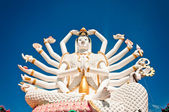 Statue of Shiva on Koh Samui island, Thailand — Stock Photo