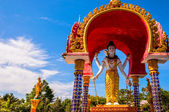 Lord Shiva statue in Buddhist temple, Koh Samui - Thailand — Stock Photo