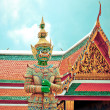 图库照片: Guardistatue in Bangkok Grand Palace - Thailand