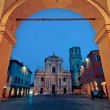 San Prospero church, Reggio Emilia, Italy — Stock Photo