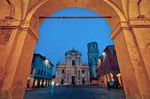 San prospero kościoła, reggio emilia, włochy — Zdjęcie stockowe