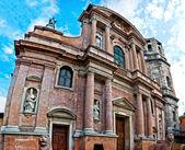 Kostel san prospero, reggio emilia — Stock fotografie