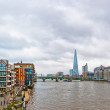 London urban view from millennium bridge — Stock Photo