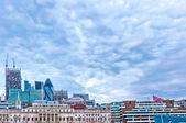 Modern skyscrapers in London, UK — Stock Photo
