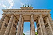 Brandenburg Gate, Berlin — Stock Photo