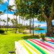 Kaanapali Beach, famous tourist destination in Maui, Hawaii — Stock Photo #40279651