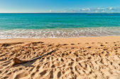 Haena beach in Kauai island, Hawaii — Stock Photo
