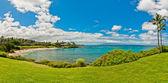 Kaanapali Beach, famous tourist destination in Maui, Hawaii — Stock Photo