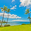 Kaanapali Beach, famous tourist destination in Maui, Hawaii — Stock Photo #40282111