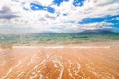 Makena Beach, famous tourist destination in Maui, Hawaii — Stock Photo