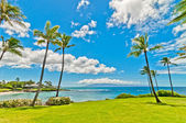 Kaanapali Beach, famous tourist destination in Maui, Hawaii — Stockfoto