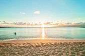 Kaanapali Beach, famous tourist destination in Maui, Hawaii — Stock fotografie