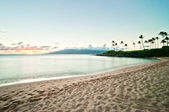 Kaanapali Beach, famous tourist destination in Maui, Hawaii — Φωτογραφία Αρχείου