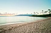 Kaanapali Beach, famous tourist destination in Maui, Hawaii — Photo