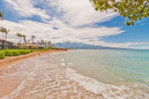 Spreckelsville Beach, famous tourist destination in Maui, Hawaii — Stockfoto