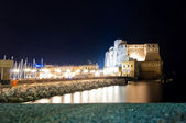 Castel dell'Ovo in Naples, Italy — Stock Photo