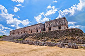 Uxmal ancient mayan city, Yucatan, Mexico — Stockfoto