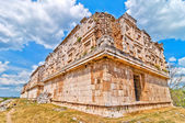 Uxmal ancient mayan city, Yucatan, Mexico — Stock Photo