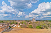 Uxmal ancient mayan city, Yucatan, Mexico — Stock Photo