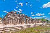 Temple of the Warriors, Chichen Itza, Mexico — Stock Photo