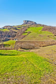 Pietra di Bismantova in Reggio Emilia Apennines - Italy — Stock Photo