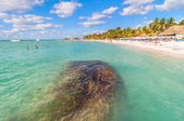 Famous Playa del Norte beach in Isla Mujeres, Mexico — Stock Photo