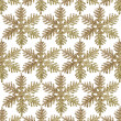Gold Glitter Snowflake background — Stock Photo #33362231