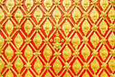 Thai stucco designs decorated wal — Stock Photo