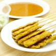 Pork Satay Thai food — Stock Photo #33375909