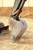 Truck Backhoe scoop — Stock Photo