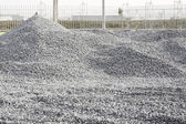 Pile Crushed stone — Stock Photo