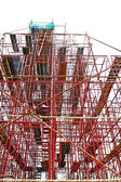 Byggnadsställning — Stockfoto