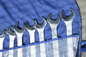 Wrenches set — Stock Photo