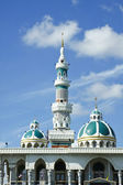 Minaret And Dome Of The Mosque — Stock Photo