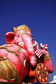 Pink ganesha statue — Stock Photo
