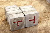 Concrete block — Stock Photo