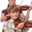 Violin players — Stock Photo