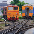Train in Thailand — Foto de Stock