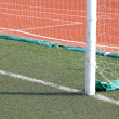 Stock Photo: Soccer Goal Line