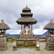 Baliness Style Temple - Stock Photo
