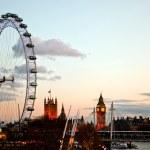 London Eye at Dusk — Stock Photo #12061909