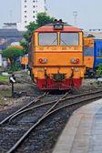 Tren en tailandia — Foto de Stock