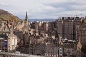 爱丁堡天际线建设 — 图库照片