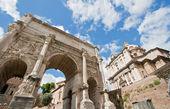 Ruin Roman Forum — Stock Photo