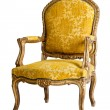 Luxury Yellow Armchair — Stock Photo #12317092
